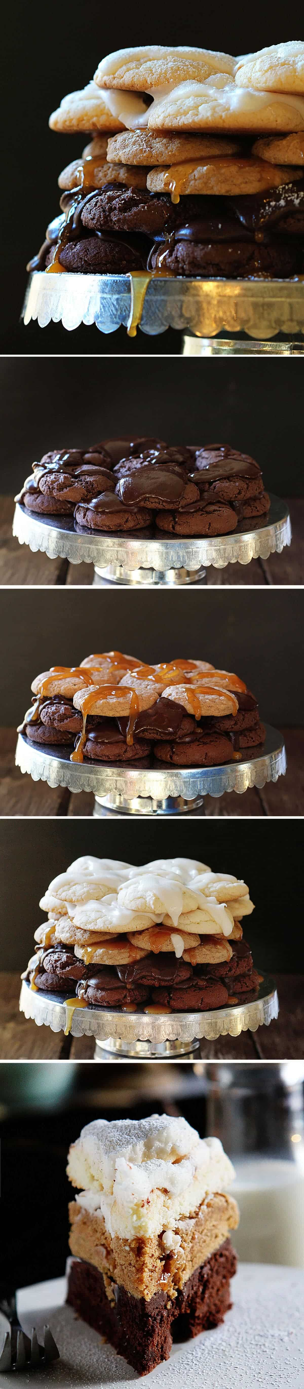 How to Make a Cookie Layer Cake!