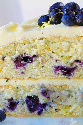 Blueberry Zucchini Lemon Cake!