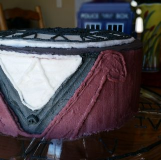 Doctor Who Cake: A Tribute to Number 12