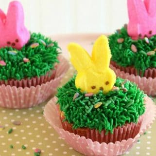 Cadbury mini egg cupcakes