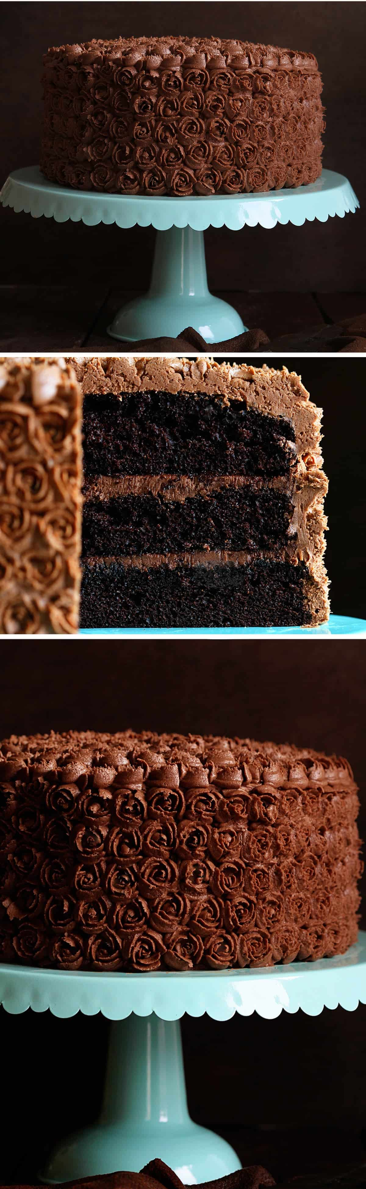 Chocolate Coffee Buttercream Frosting - i am baker