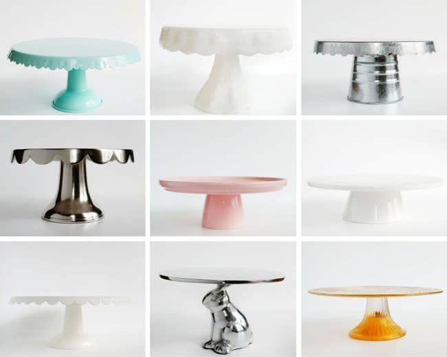Cake Stand Collection from iambaker.net