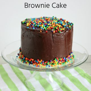 Cosmic Brownie Cake