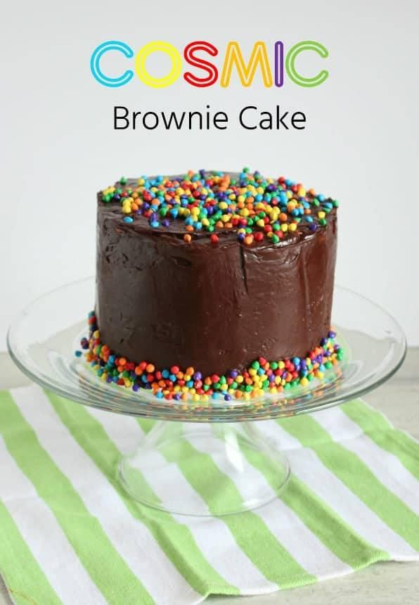 Cosmic Brownie Cake I Am Baker