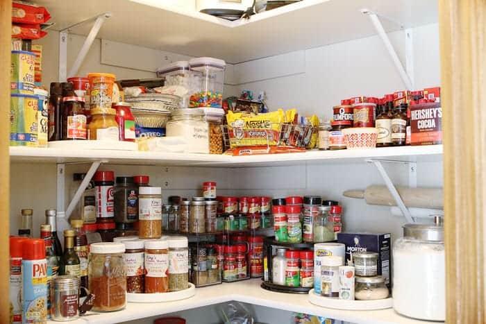 Kitchen Pantry Organization!