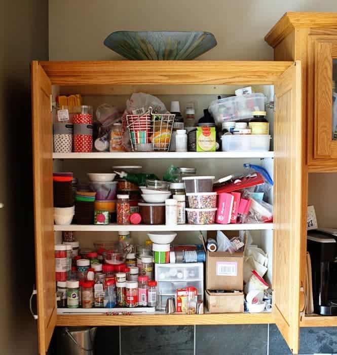 BEFORE: Sprinkles Cabinet!