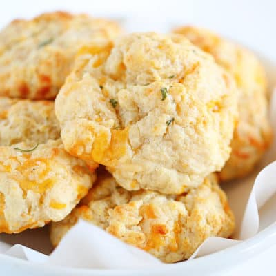 Cheesy Garlic Biscuits - Red Lobster Cheddar Bay Biscuits