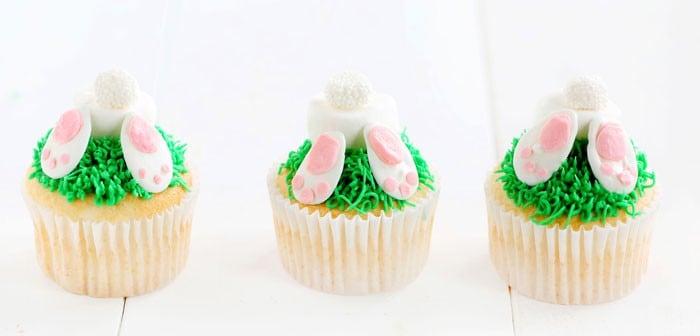 Bunny Butt Cupcakes!