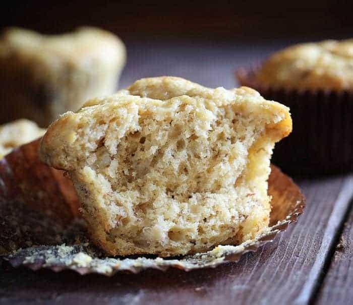 Moist Banana Muffins!