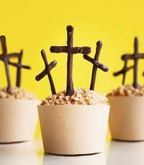 Cross Cupcakes - Easter
