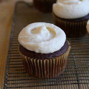 Pumpkin Buttercream Cupcakes