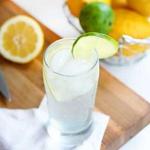 Homemade lemon/lime soda