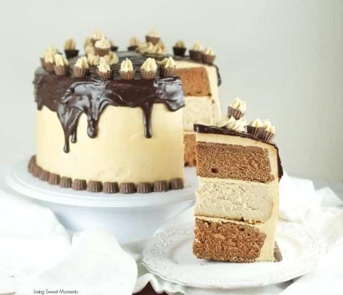 Chocolate Peanut Butter Cheesecake Cake I Am Baker