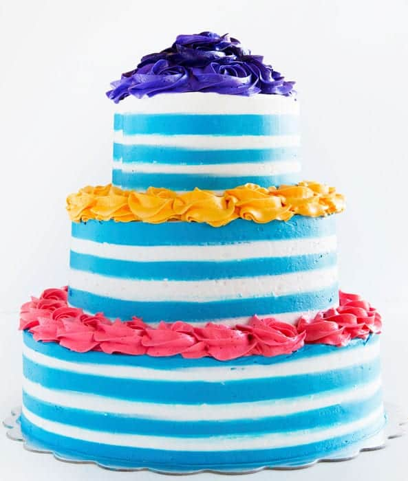 How to Make Stripes in Buttercream