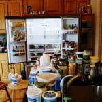 How to Clean a Refrigerator: Before & After