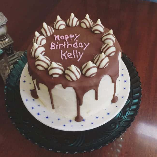 Happy Birthday Kelly I Am Baker