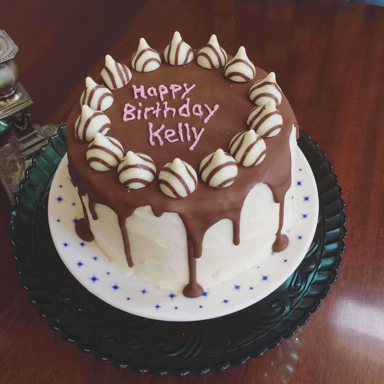 Happy birthday kelly i am baker - Happy birthday cake picture ...