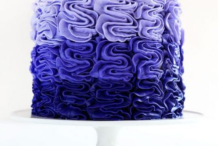 You won't believe how easy this cake is... one tip and three colors is all it takes!