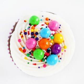 Sixlets Cupcakes {the perfect formula}