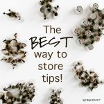 How to Store Decorator's Tips {For Serious Baker's Only!}