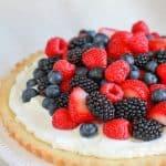 Berries and Cream Tart