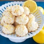 Easy Lemon Macaroons