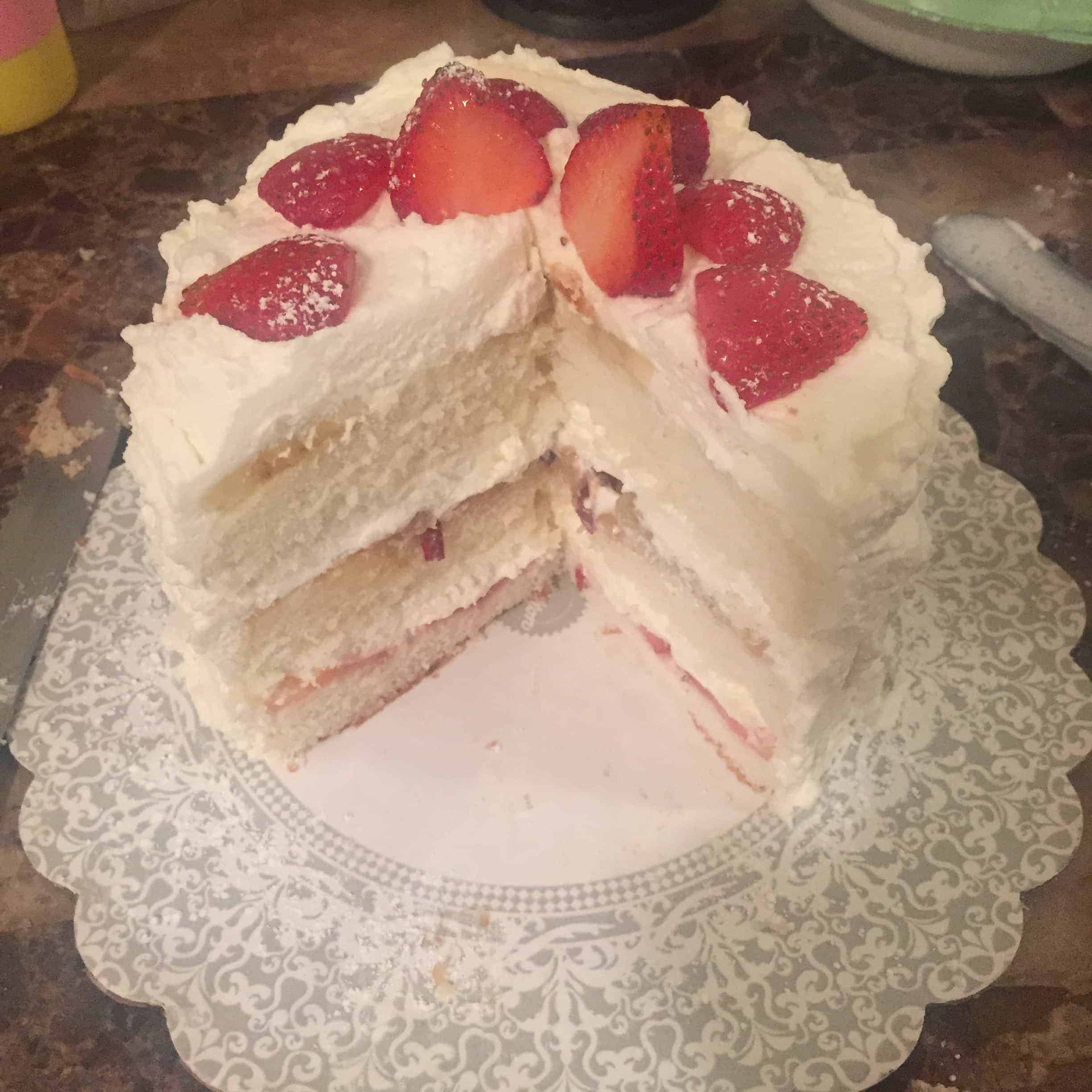 White Cake Recipe From Scratch Easy