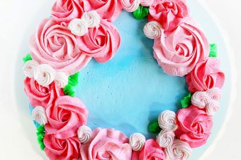 How to make an easy cake that will make mom cry those big HAPPY tears!