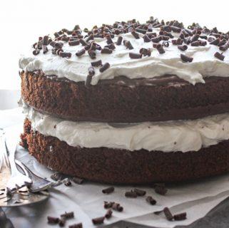 Nutella Chocolate Layer Cake