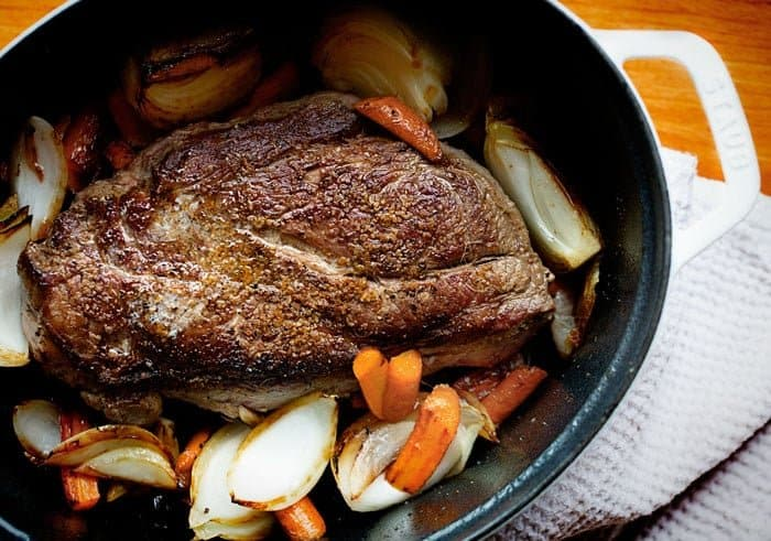 I made this and my husband told me it was the best pot roast he had ever had!