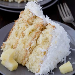 Pineapple Coconut Caked
