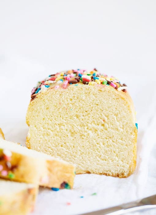 Rainbow Sprinkles Bread