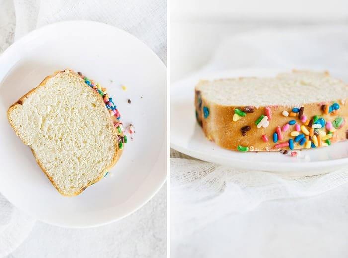 Rainbow Sprinkles Bread