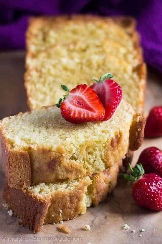 Perfect Pound Cake - i am baker
