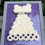 White Chocolate Raspberry Cupcake Wedding Dress
