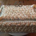 Rosette Anniversary Cake