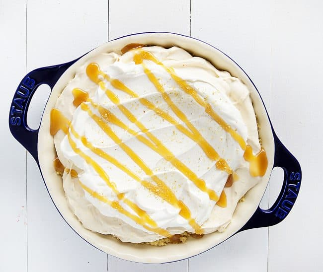Seriously decadent pie... and no need for turning on that oven!