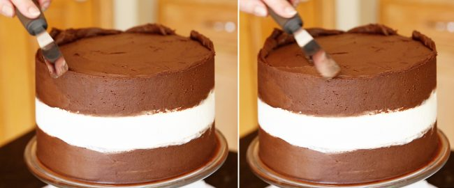 How to Smooth the Top Edges of a Buttercream Cake!
