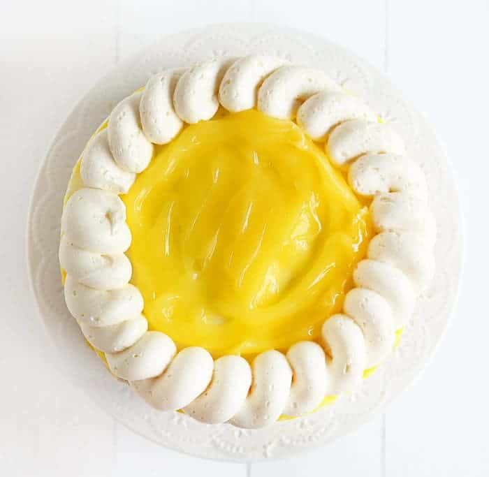 The ULTIMATE Lemon Cake