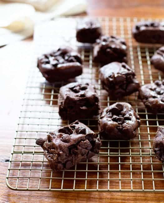 Easy Double Chocolate Chip Cookies