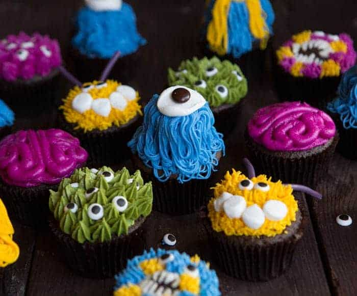 Monster Cupcakes I Am Baker
