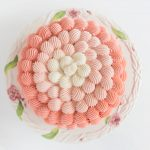 Pink Ombre Shell Cake