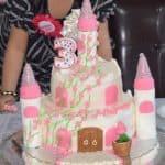castle cake for my little princess
