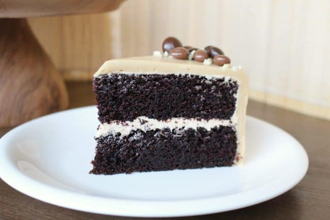 Chocolate Mocha Cake - i am baker