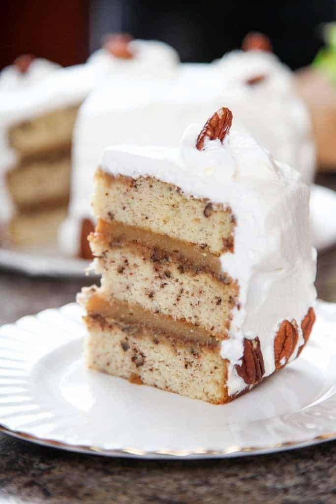 Pecan Pie Cake Recipe With Cream Cheese