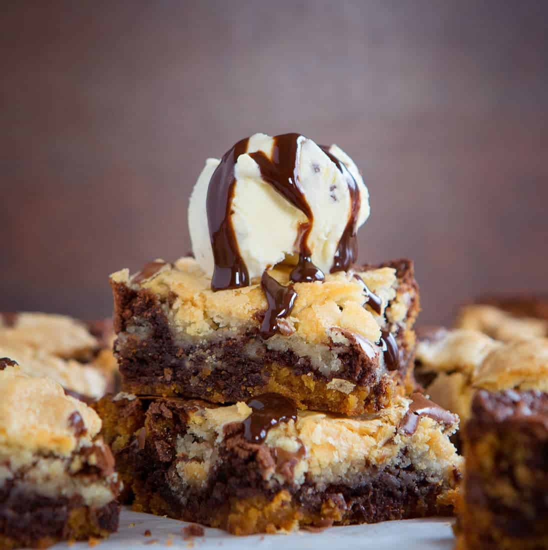 Everything you ever wanted in a brownie... all in one amazing bite!