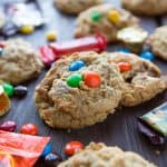 Halloween Candy Overload Cookies
