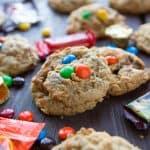 Halloween Candy Overload Cookies