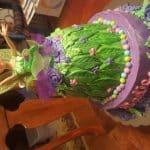 Fairy Tinkerbell Cake