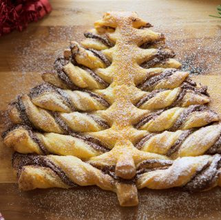 Cinnamon Chocolate Hazelnut Puff Pastry
